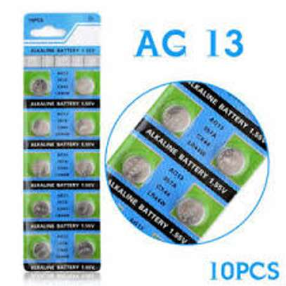 Alkaline AG13 1.55V Coin Cell Battery CX44 357A LR44W Long Life Button Battery. image 1
