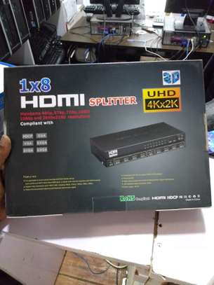 HDMI SPLITTER 1 by 8 - 1080p clarity image 1