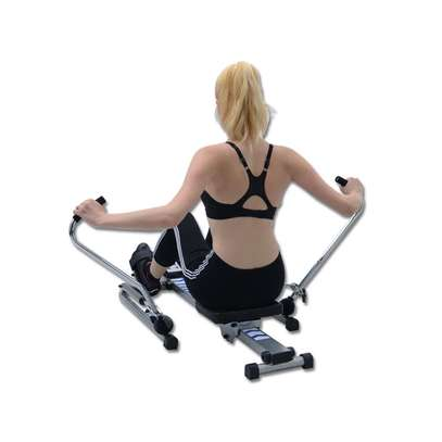 Mutifunctional Stamina Body Glider Rowing Machine indoor home exercise equipment fitness machines gym Rotating rowing machine image 5