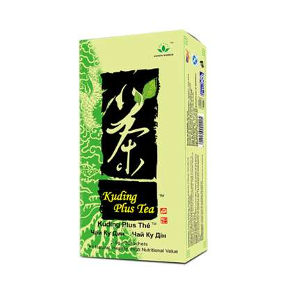 GREEN WORLD KUDING PLUS TEA (2.5gx20sachets) image 1