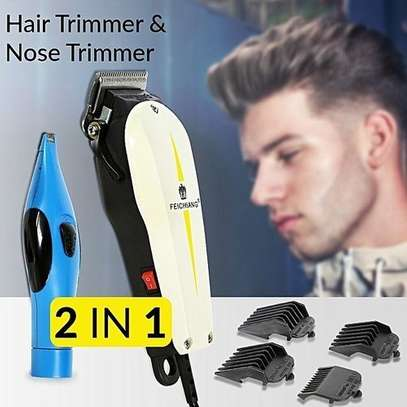 Nose/Ear/Eyelashes Hair Clipper - Black And White