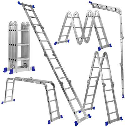 12ft Multipurpose Aluminium Ladder Metaform (3x4 Multi Hinge Joint) in Nairobi Kenya image 1