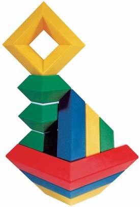 Junior Set 15 Pc Building Block Set Educational Toy image 5