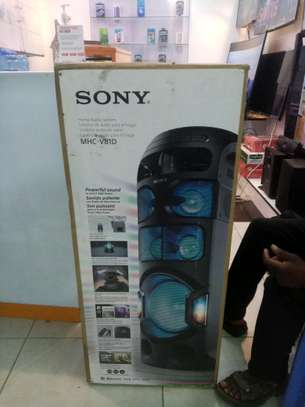 SONY V81D High Power Audio System with BLUETOOTH® Technology MHC-V81D image 1