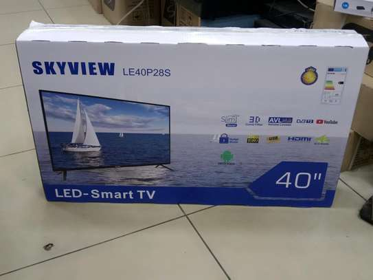 Skyview Smart Android 40 Inch TV With Google Playstore Brand New