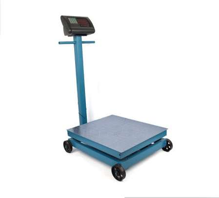 Balance With Wheels 600kg. image 1