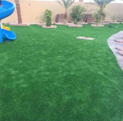 Indoor/Outdoor Artificial Grass Turf Area Rug image 7