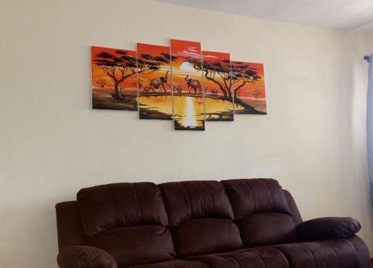 Sungura Art Painting Wall decor Painting On Canvas image 2