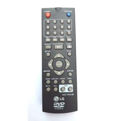 LG DVD Remote Control - Black image 1