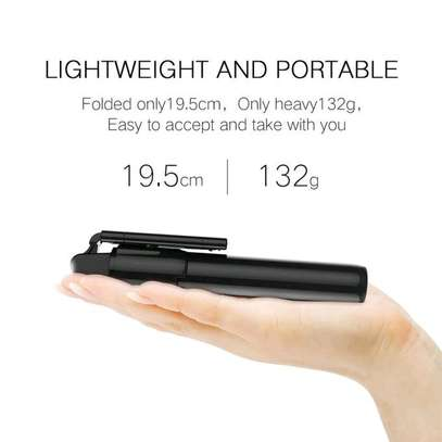 3 in 1 Wireless Bluetooth Selfie Stick for iphone/Android/Huawei Foldable Handheld Monopod Shutter Remote Extendable Mini Tripod image 4