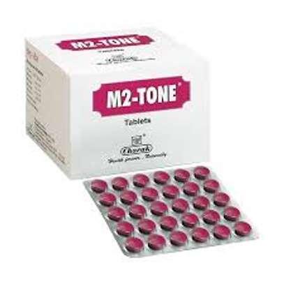 M2 TONE TABLETS FEMALE FERTILITY | MENSTRUAL CYCLE PAIN TREATMENT | IRREGULAR PERIODS image 1