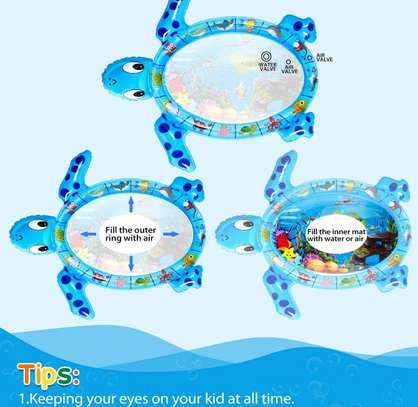 Baby inflatable water play mat. image 11