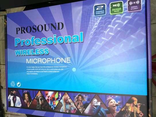 Prosound wireless microphone, image 1