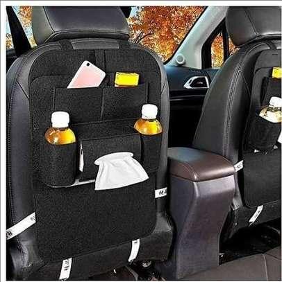 Car back seat organizer image 1