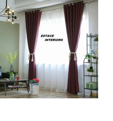 MODERN CURTAINS AND SHEERS image 1