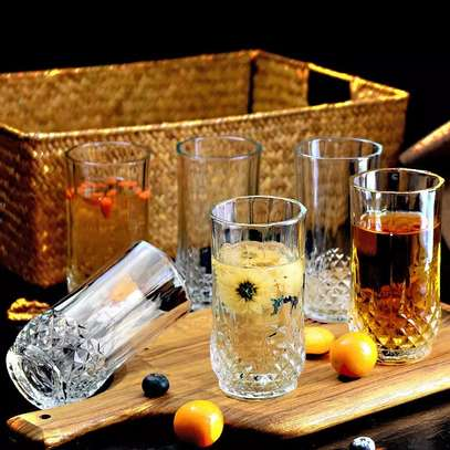 6pc Water Glasses image 1