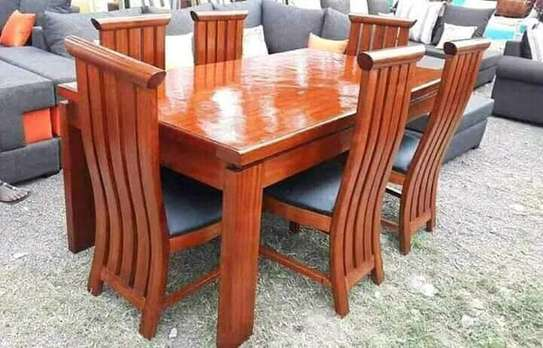 6 Seater Dining Table image 2