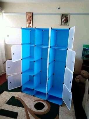 plastic portable wardrobes 3 columns image 13