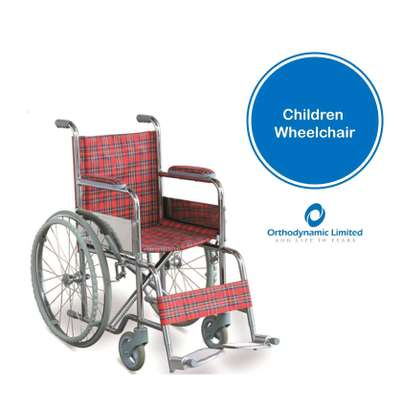Standard commode wheelchair image 3