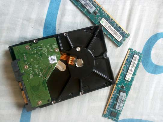 2TB hardisk and two 2GB RAM image 1