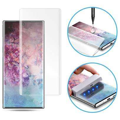 UV Full Adhesive Tempered Glass film for Samsung Galaxy Note 10/Note 10 Plus Screen Protector image 4