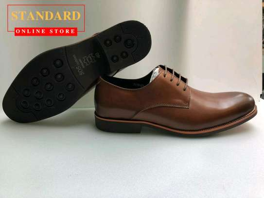 PURE ITALIAN LEATHER SHOES WITH RUBBER SOLE image 23