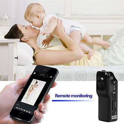 World Smallest HD Nanny Camera With Live Stream Over Web And Smart Phones -Black image 8