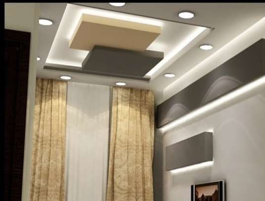 Gypsum Ceiling and Wall Installation image 4