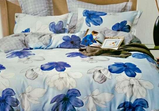 blue flowery duvet cover image 1