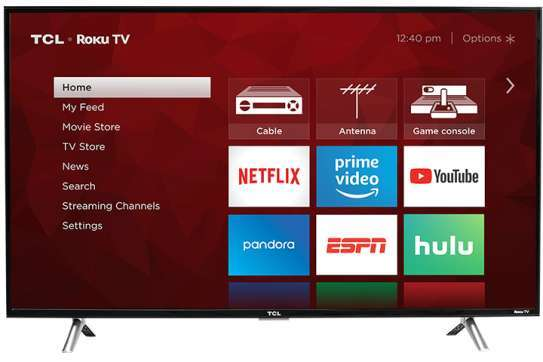 TCL digital smart android 49 inches