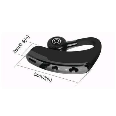 V9 Ear Wireless CSR Bluetooth Headset, Hands Free With Mic For And Android WWD image 2