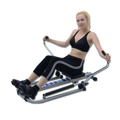 Mutifunctional Stamina Body Glider Rowing Machine indoor home exercise equipment fitness machines gym Rotating rowing machine image 3