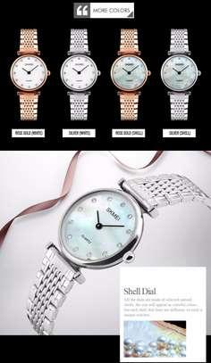 Skmei Women Fashion Luxury Gold Watch 1223 image 3