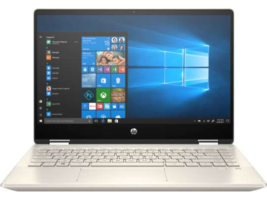 "HP Pavilion X360 i7 8265U DUAL 12GB 256GB 14"" image 1"