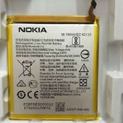Nokia 3 Battery - Yellow and Silver image 1