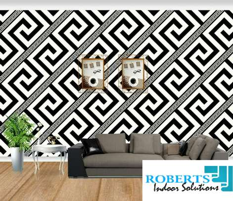 white and black wallpaper image 1