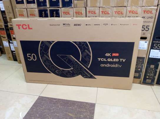 50 inch TCL  50C725 QLED android UHD 4k tv image 1