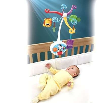 2-in-1-activity-friends-Baby COT/Baby Crib toys image 2