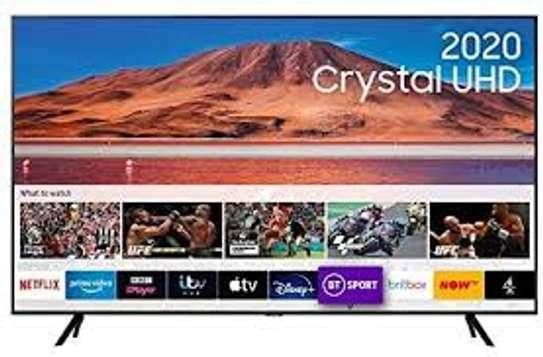 Samsung 43'' CRYSTAL 4K UHD SMART TV, BLUETOOTH, VOICE COMMAND, NETFLIX 8 SERIES-Black image 1