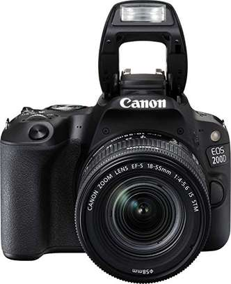 Canon EOS 200D Rebel SL2 Kit with EF-S 18-55mm f/4-5.6 is STM Lens Digital SLR Cameras