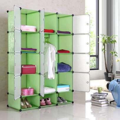 Portable  plastic wardrobe