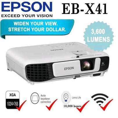 Epson EB-X41 3LCD, 3600 Lumens, 300 Inch Display, XGA Projector - White image 5