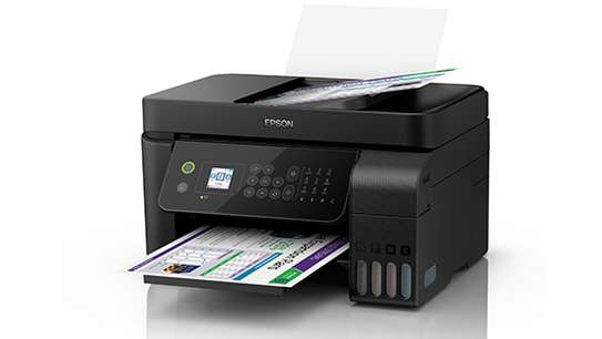 Epson L5190 Wi-Fi All-in-One Ink Tank Printer with ADF image 1