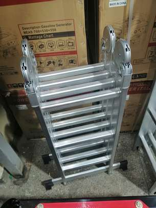 16Fts Multipurpose Aluminium Ladder image 1