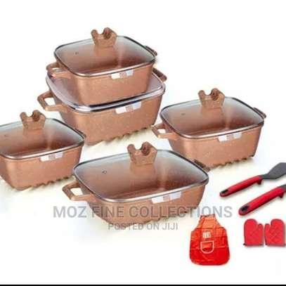 15 Piece Granite Cookware Set image 4