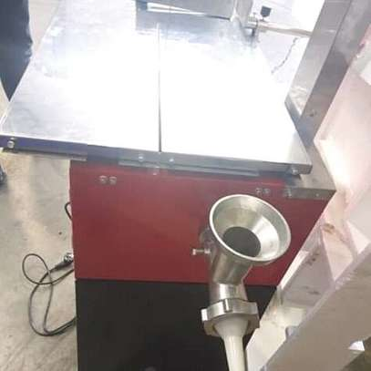 BRAND NEW BONE SAW WITH A MEAT MINCER. image 5