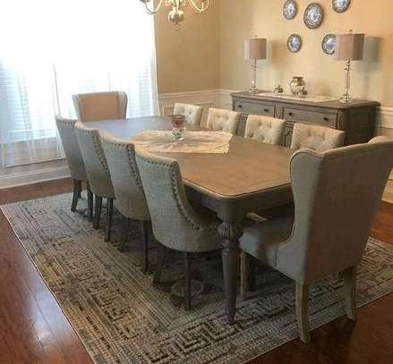 Latest dining table set/modern dining set/ten seater Dining set image 1