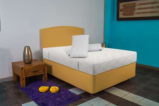 Complete Set, with Spring Mattress. image 1