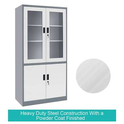 Two door filling cabinets image 6
