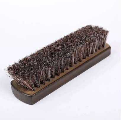 100% horse hair Shoe Brush